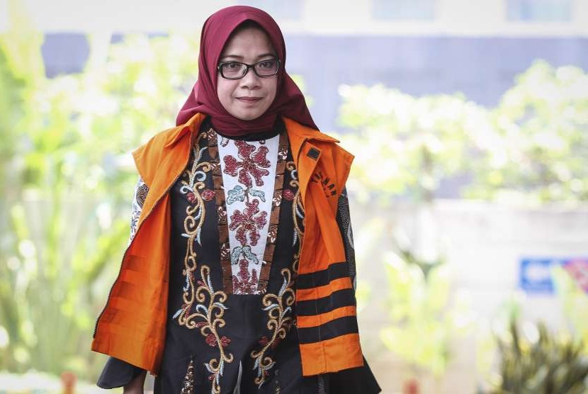 Ex-Deputy Chairperson of the House of Representatives' Commission VII of the Golkar Party Faction Eni Maulani Saragih