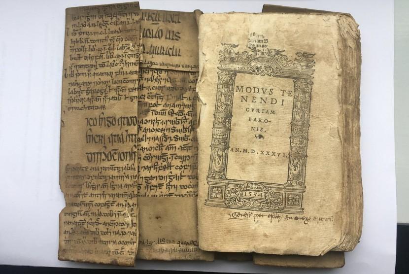 Manuskrip karya Ibnu Sina berbahasa Irlandia