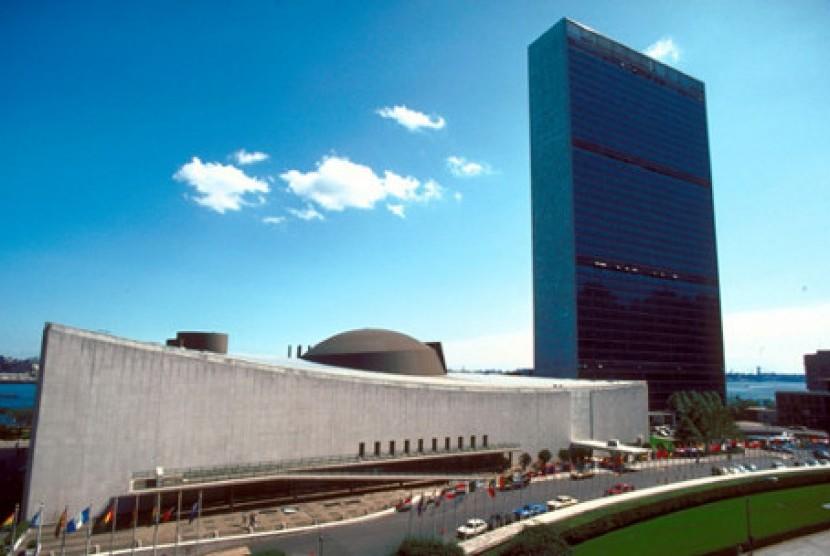 Markas PBB di New York (ilustrasi)