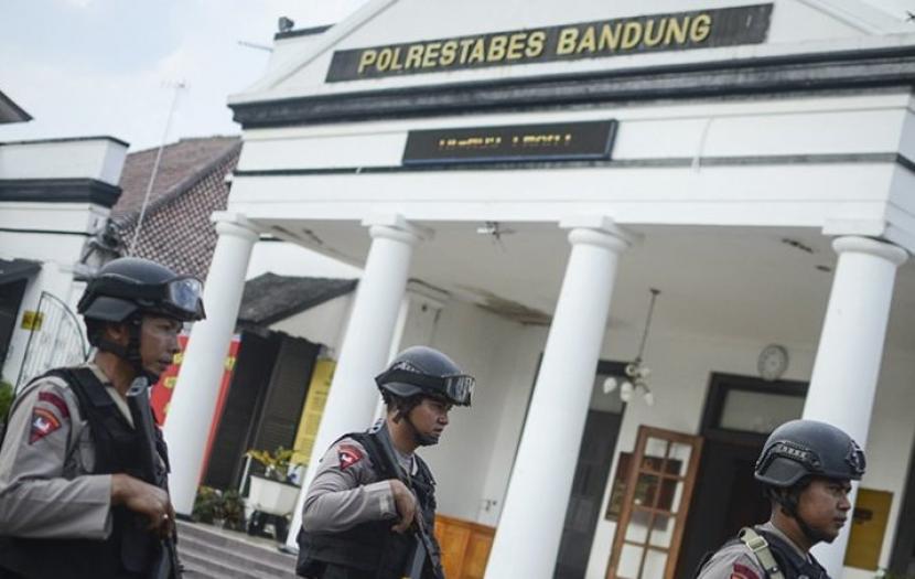 Markas Polrestabes Bandung (ilustrasi).