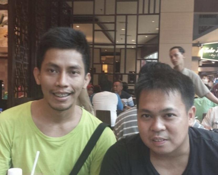 Markis Kido (kanan).