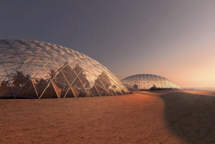 Mars Science City di Dubai.
