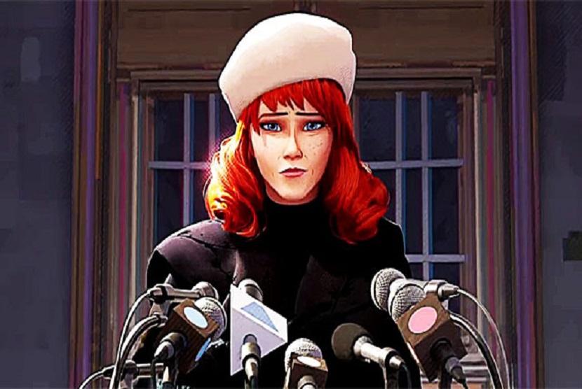 Mary Jane Watson di Film animasi Spider-Man: Into the Verse