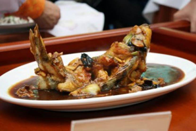 Masakan lezat berawal dari ikan yang segar. (Ilustrasi)