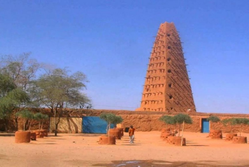 Masjid Agadez, Niger