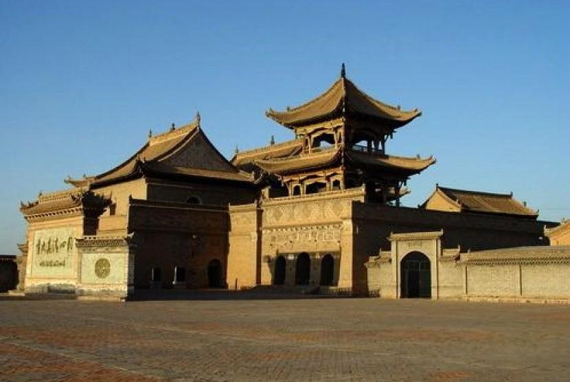 Masjid Agung Tongxin, Cina.