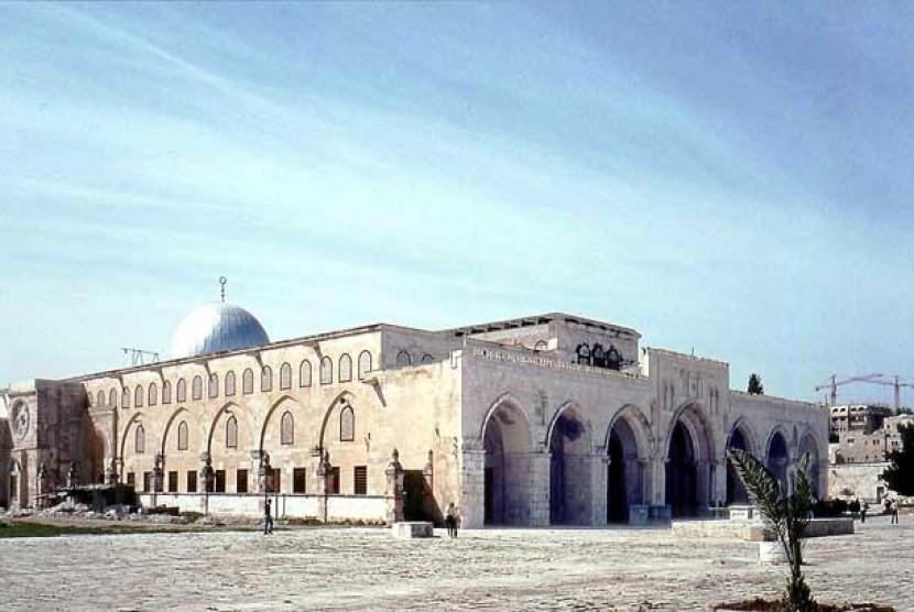 Di Manakah Mihrab Nabi Zakaria Republika Online