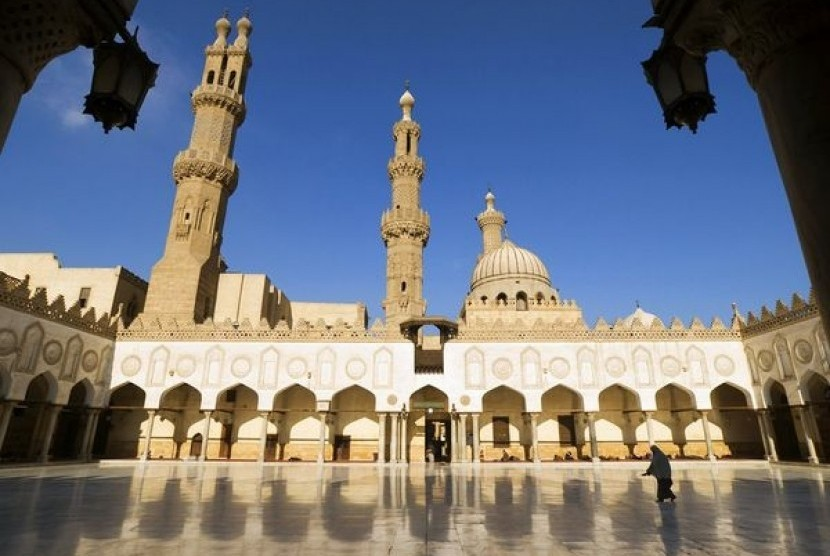 Masjid Al Azhar, Kairo, Mesir