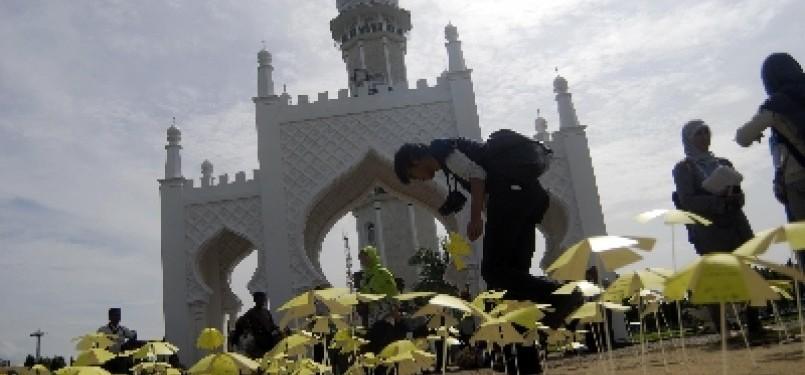 Masjid Baiturrahman Banda Aceh (ilustrasi).