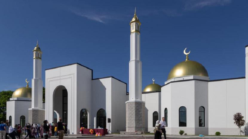 Masjid baru di Indiana tengah, Amerika Serikat