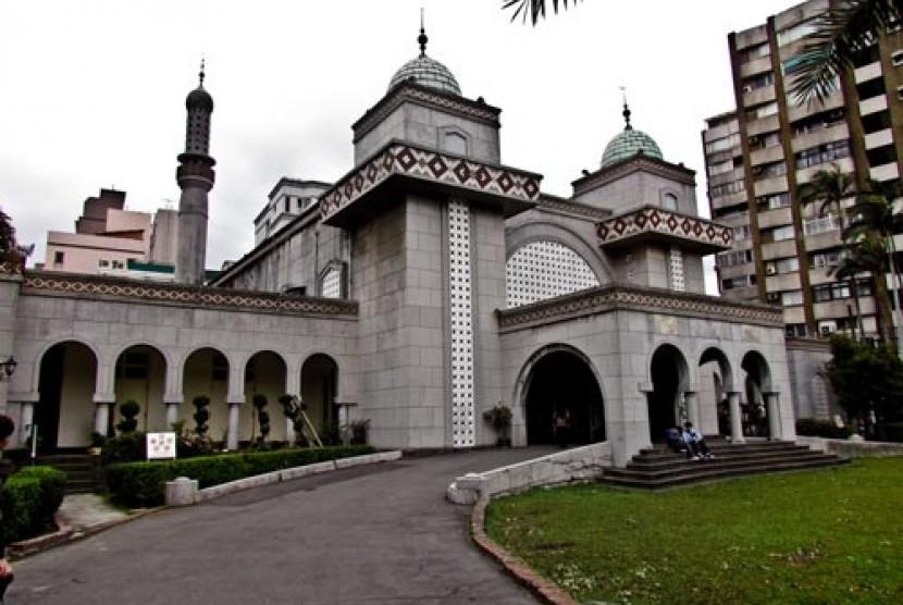 Masjid di Amerika (Ilustrasi)