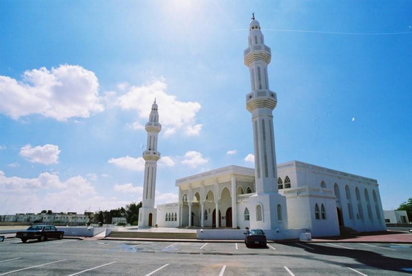 Masjid di Qatar (ilustrasi)
