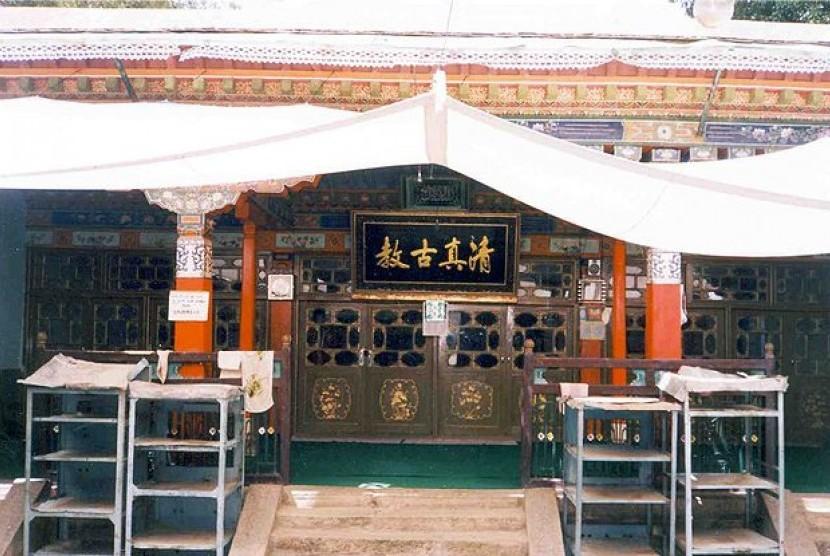 Masjid di Tibet