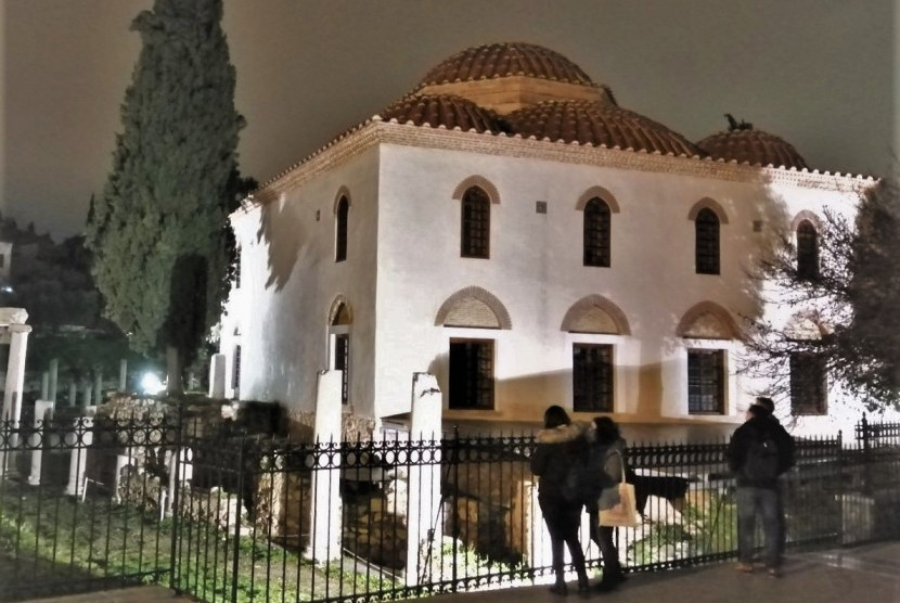 Masjid Fethiye peninggalan Ottoman Turki di Athena, Yunani.