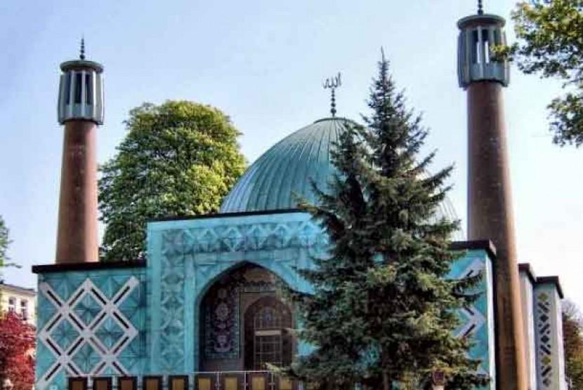 Masjid Imam Ali di Hamburg.