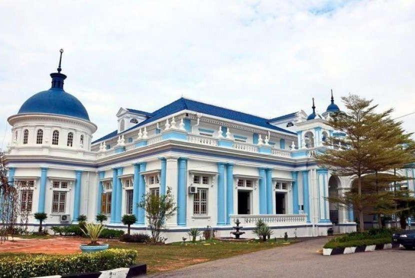 Masjid Jamek Sultan Ibrahim, di Johor, Malaysia