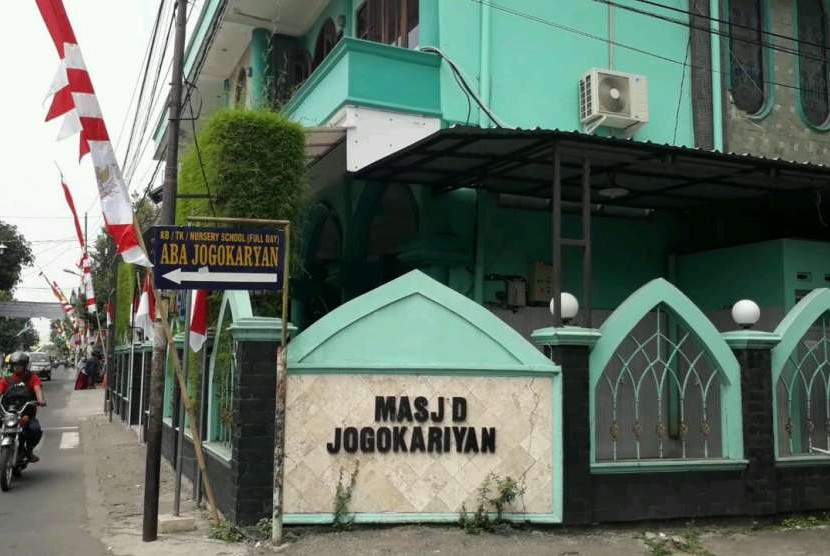 Masjid Jogokariyan di Kecamatan Mantrijeron, Kota Yogyakarta