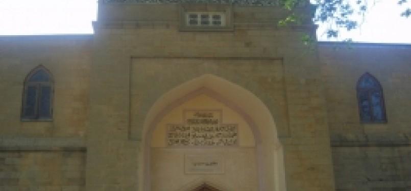 Masjid Juma di wilayah Republik Dagestan, Rusia