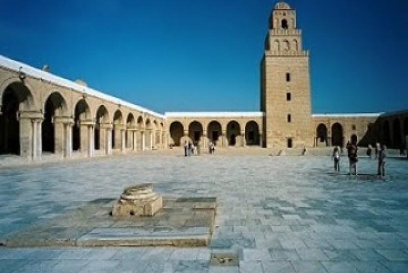 Masjid Kairouan di Tunisia