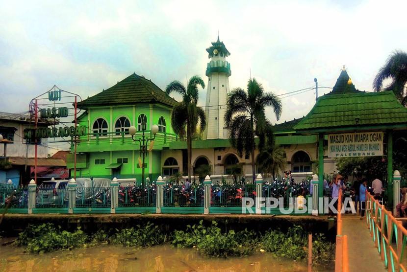 Masjid Kiai Muara Ogan atau Ki Marogan Palembang.