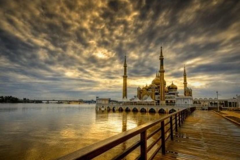Masjid Kristal, di Kuala Terengganu, Malaysia (ilustrasi).