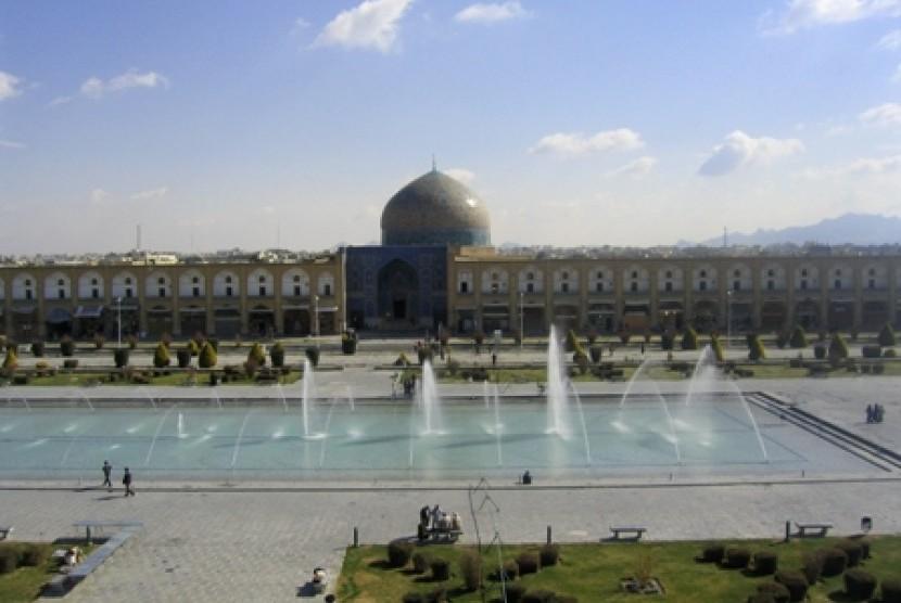 Masjid Lotfollah di Isfahan Iran