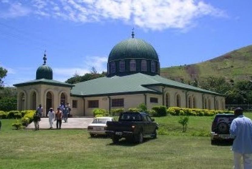 Ada Masjid Indonesia Di Papua Nugini 2 Republika Online