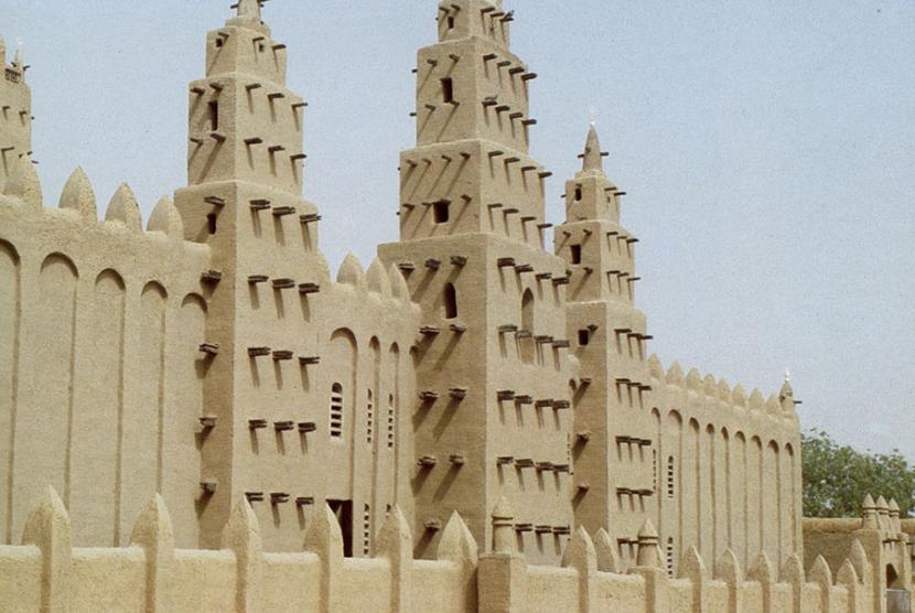 Masjid Raya Niono, Mali.