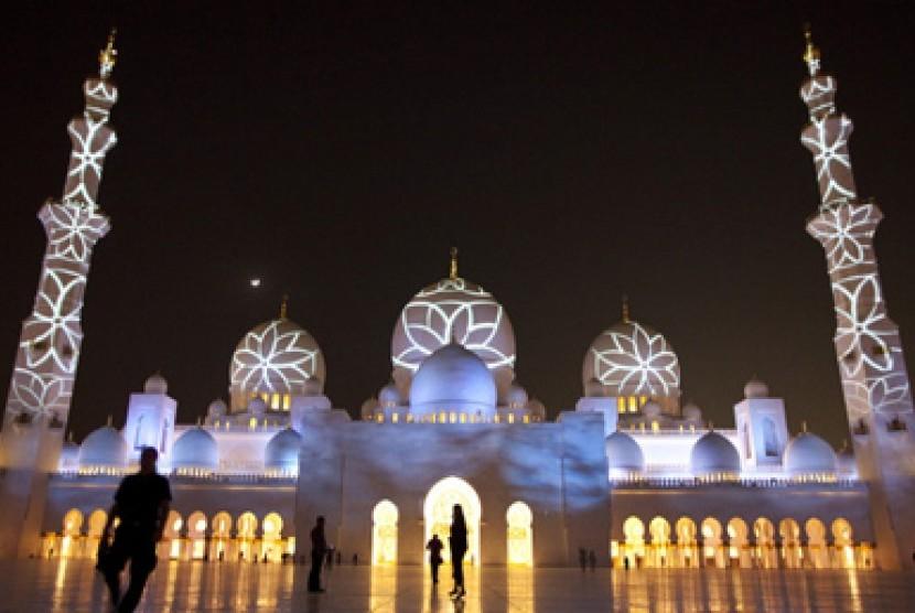 Masjid Sheikh Zayed, Abu Dhabi.