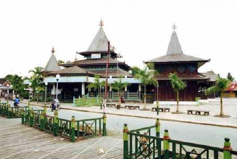 (Ilustrasi) Masjid Sultan Suriansyah Kerajaan Banjar