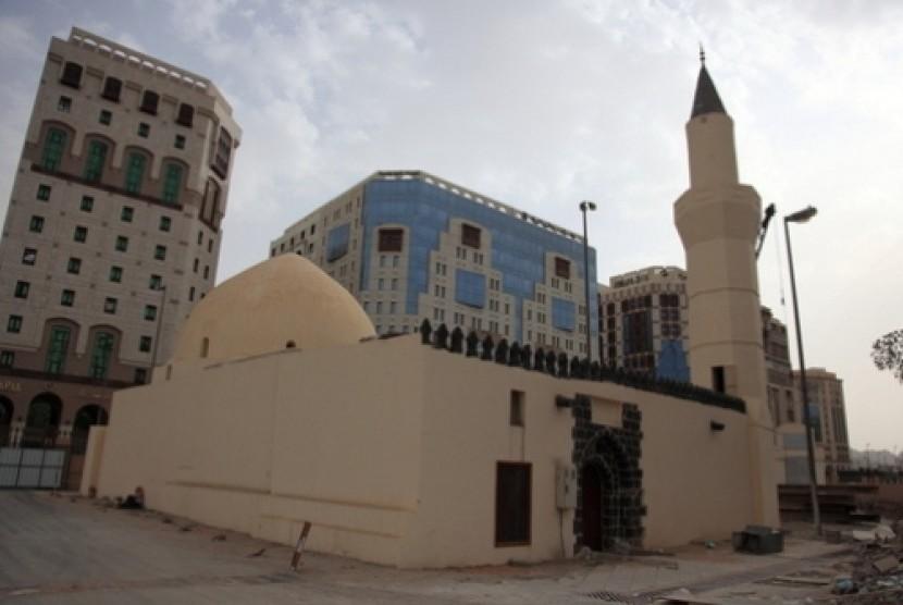 Masjid Umar bin Khattab di Madinah