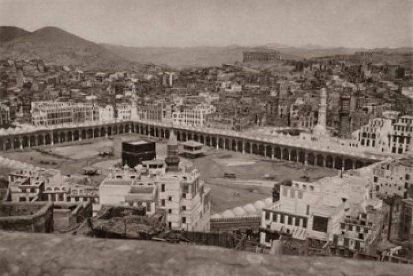 Masjidil Haram saat Hurgronje berada di Makkah