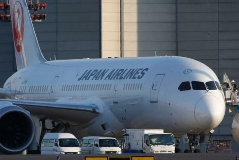 Maskapai Japan Airlines.