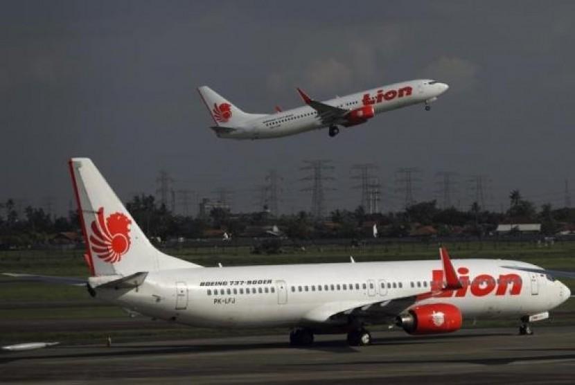 Maskapai Lion Air (ilustrasi)