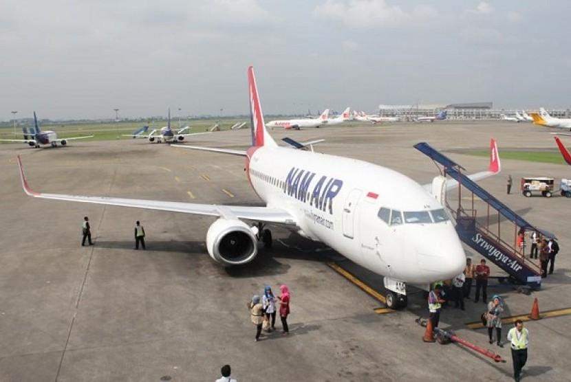Maskapai penerbangan NAM Air.