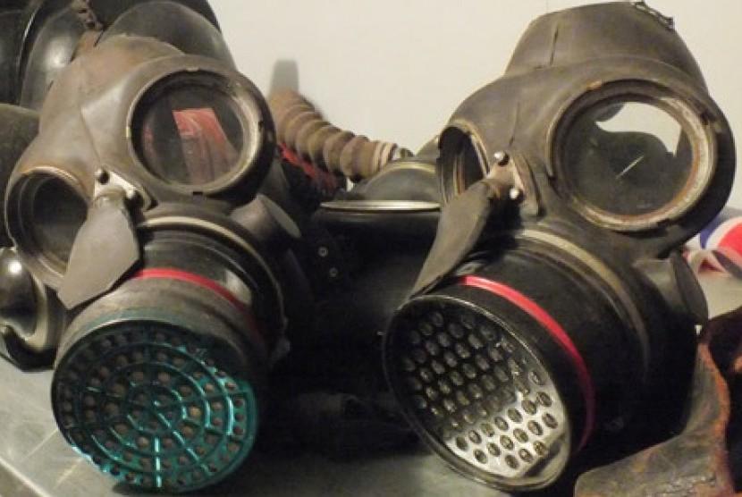 Masker gas yang digunakan dalam peperangan