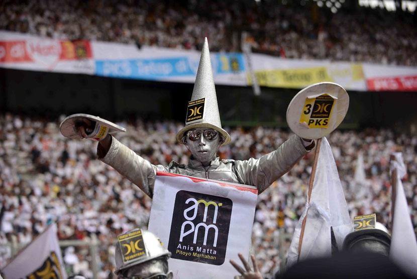 Massa Partai Keadilan Sejahtera (PKS)