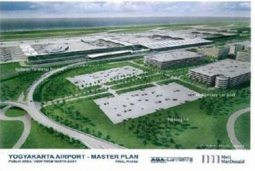 masterplan Bandara Internasional di Kulonprogo.
