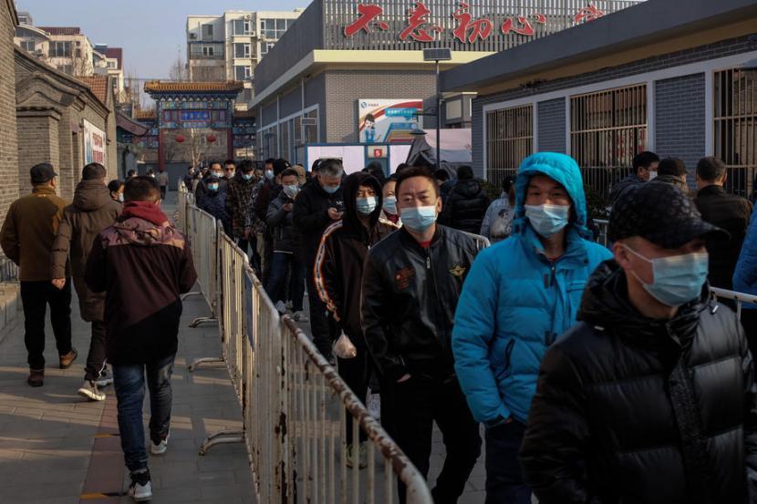 China Catat 90 Tambahan Kasus Baru Covid-19 | Republika Online