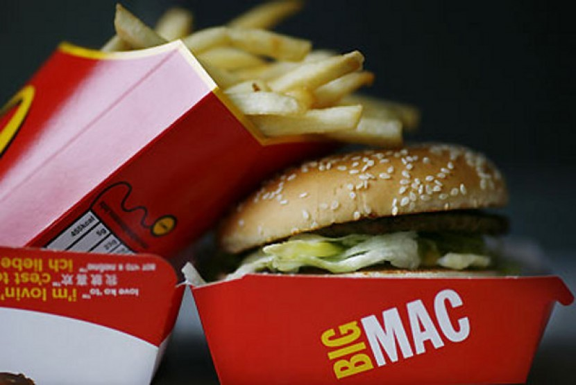 Burger King Promosikan McDonald's