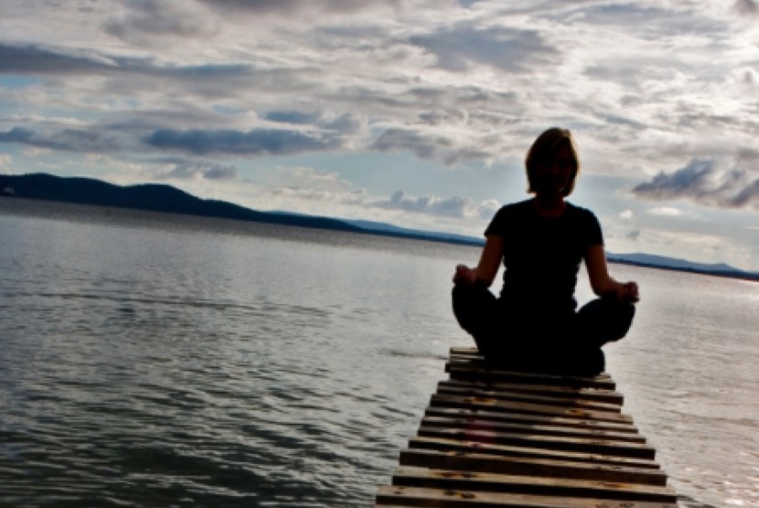 Meditasi/ilustrasi