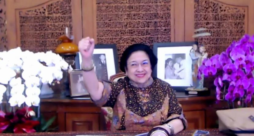 Megawati Ingin Populerkan Salam Pancasila