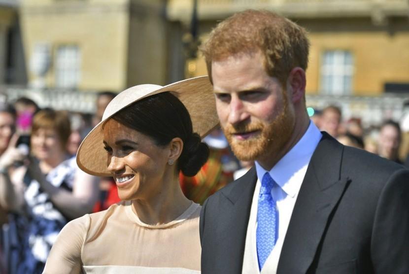 Meghan Markle dan Pangeran Harry.