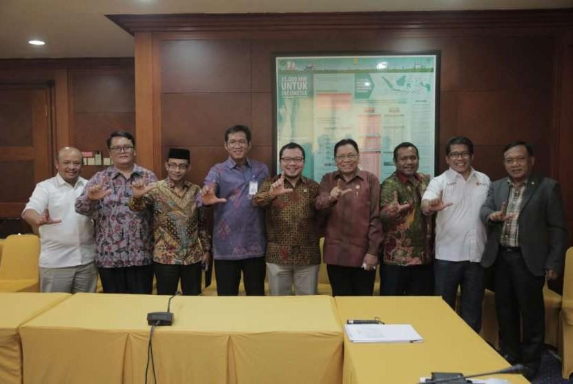 DPD RI melakukan rapat dengan Direksi PLN di Kantor PLN Pusat, Rabu (19/9).