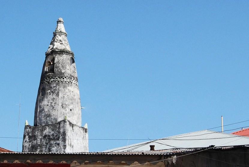 Menara masjid di Tanzania