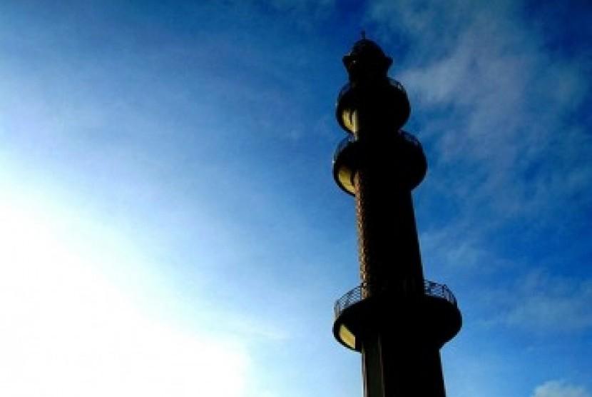 Menara masjid, ilustrasi
