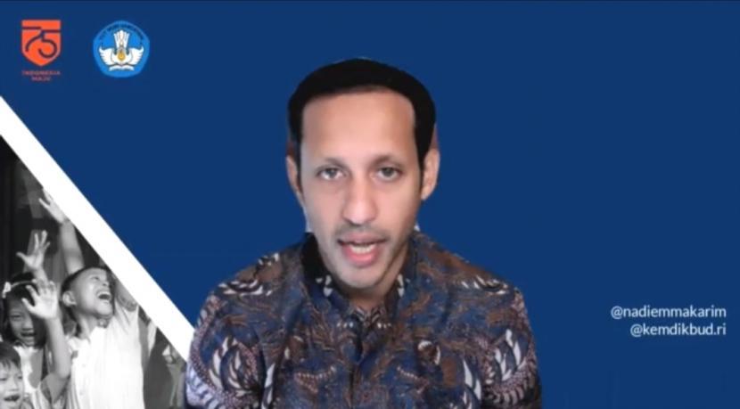 Mendikbudristek, Nadiem Makarim.