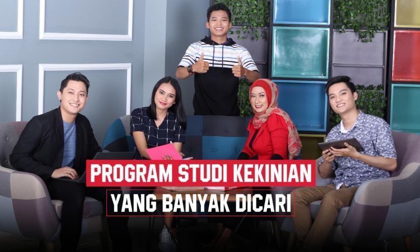 Mengenal  lima  jurusan kuliah kekinian yang lulusannya banyak dicari.