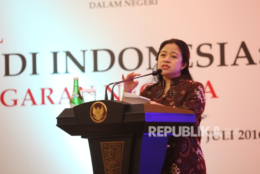Coordinating Human Development and Culture Minister Puan Maharani