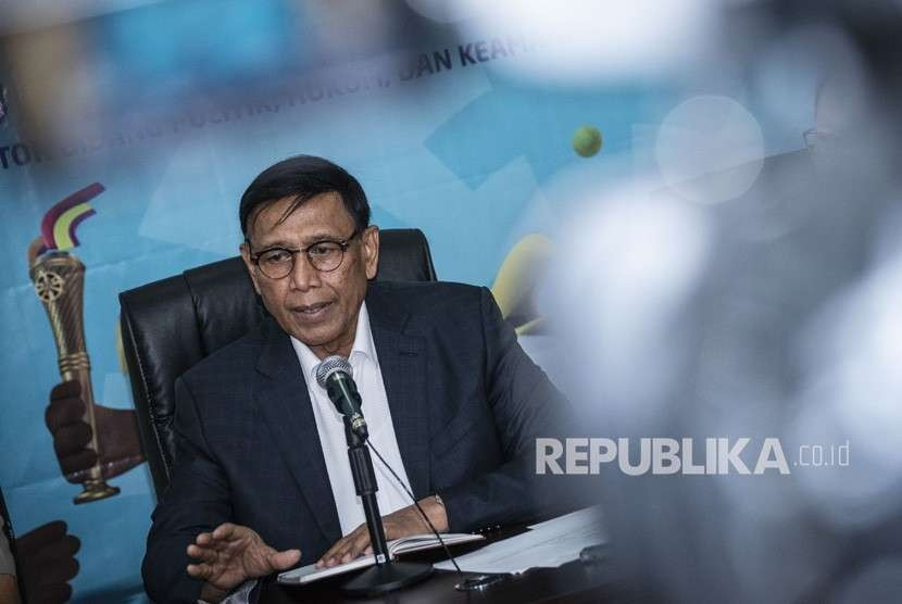 Coordinating Minister for Legal, Political and Security Affairs Wiranto